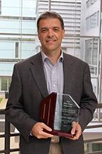 Marcelo Dapino, professor and Honda R&D Americas Designated Chair in Engineering